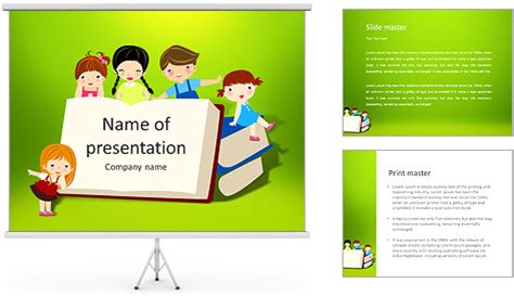 Powerpoint templates for book report